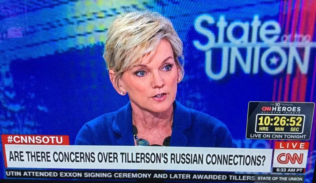 Jennifer Granholm appearing on CNN